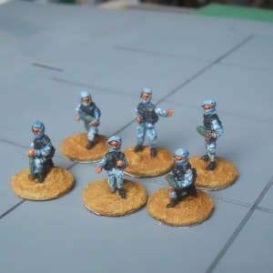 Arab militia artillery crew pack of 6