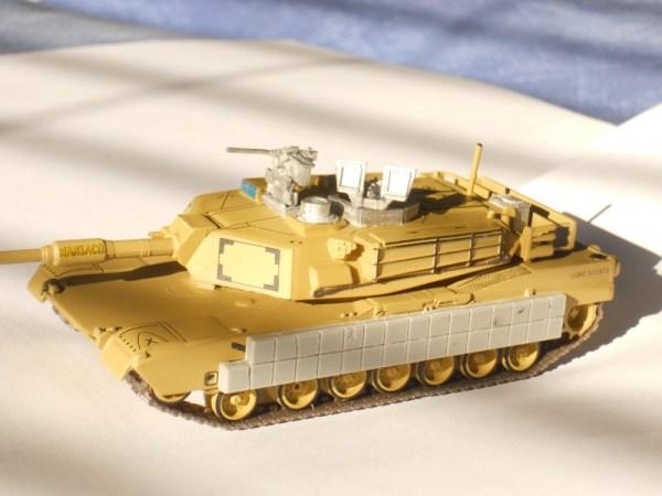 M1 Abrams Tusk upgrade kit