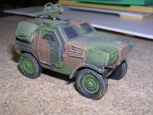 Panhard VBL armoured car