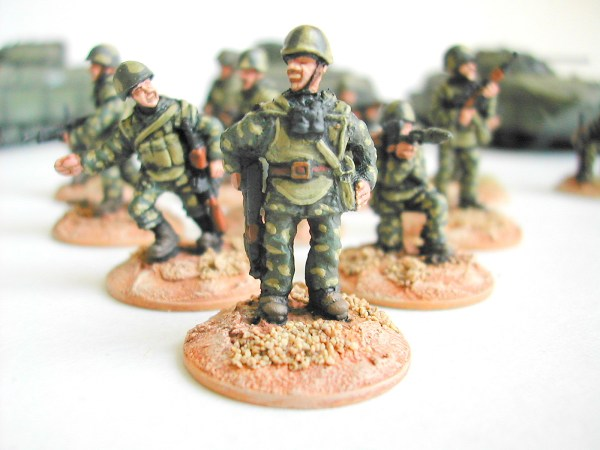 Russian motor rifle troops pack of 20
