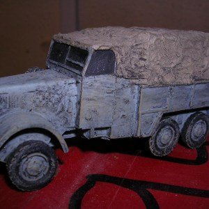 German Man einhitsdeisel 6x6 truck