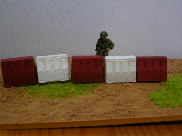 Plastic barriers