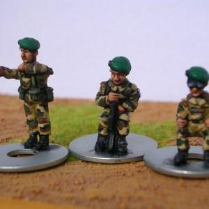 Light 4x4 crew in beret