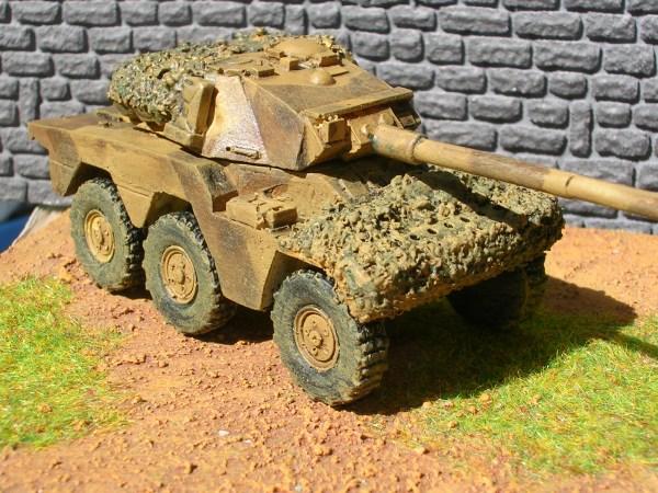 ERC 90 Sagie armoured car