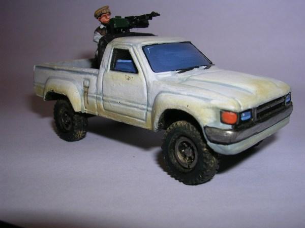 Toyota Hilux 2 door pick up (technical)