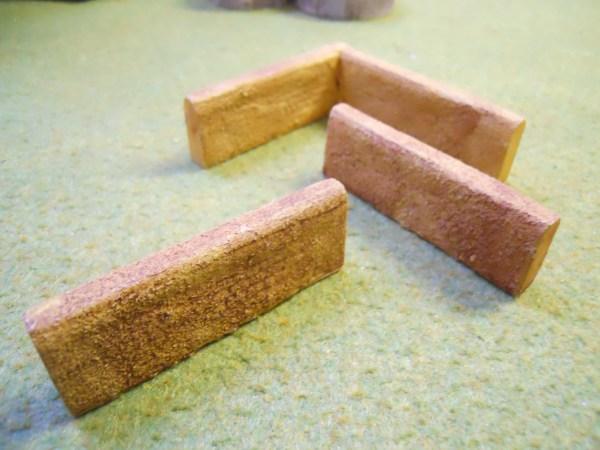 Mud walls straight (long type)