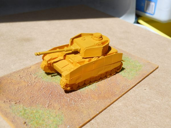 Made & primed Panzer 4h
