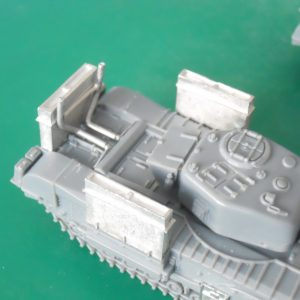 1/72 Churchill deep wading trunks kit