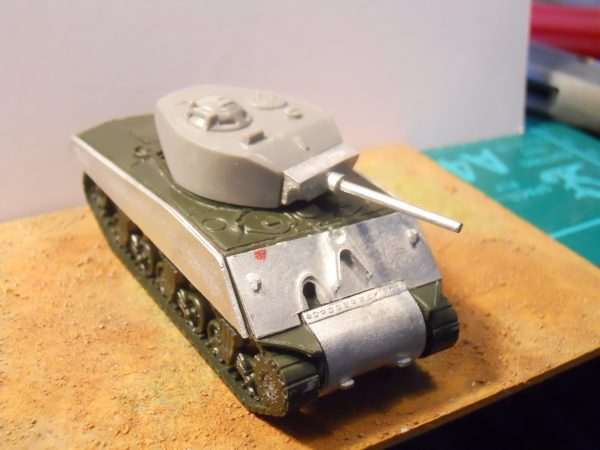Sherman M4A3E2 jumbo conversion kit