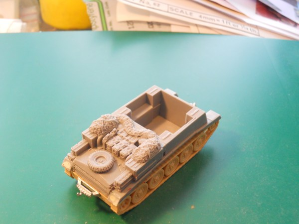 Crusader gun tractor conversion kit