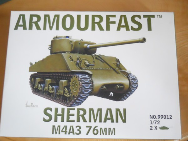 Single Armourfast M4A3 76mm & M32 arv conversion kit offer
