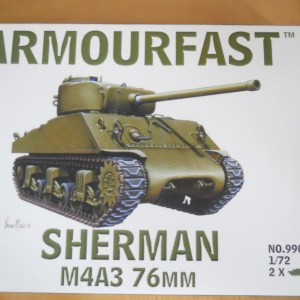 Single Armourfast M4A3 & M1 dozer blade offer