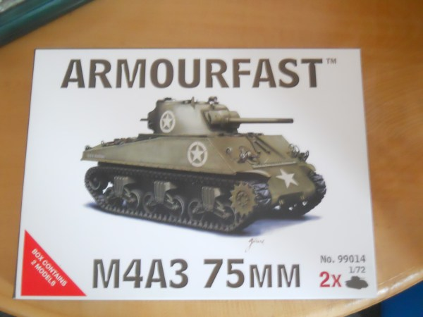 Twin Armourfast M4A3 & 1 x Jumbo conversion kit offer