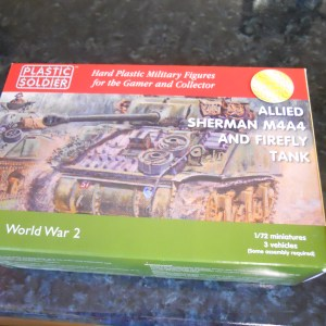 Plastic Soldier Company M4A4 sherman pk of 3