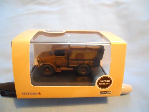 Oxford diecast Bedford MWD truck