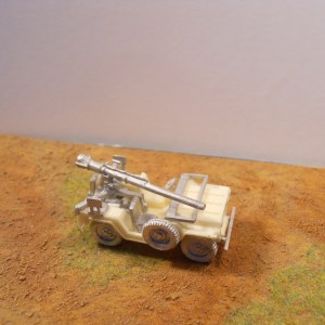 Recoilless rifle conversion for the S Models MUTT