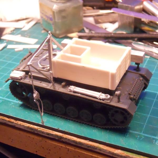 1/56th Bergpanzer 3 conversion kit