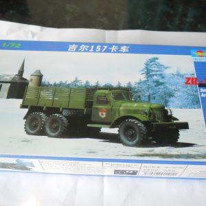 Trumpeter Zil 157 6x6 truck