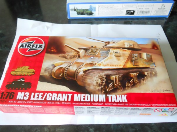 Airfix M3 Lee/Grant & M31 arv conversion special offer