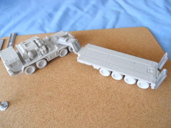 Faun SLT50 Elephant tank transporter