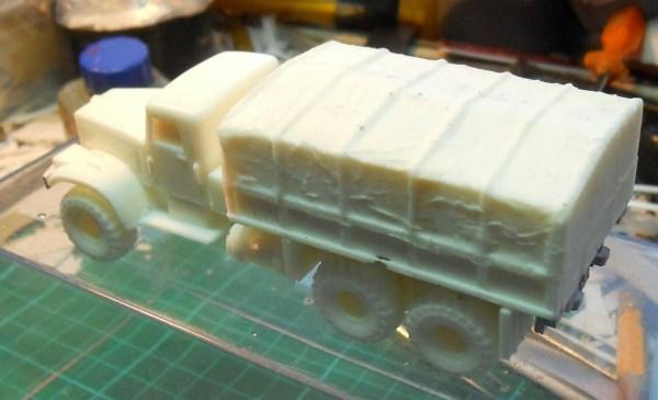 Kraz 255B 7 ton 6x6 G.S. Truck