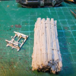 15mm Churchill avre fascine & cradle conversion