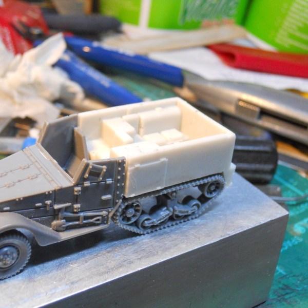 M2 gun tractor half track conversion