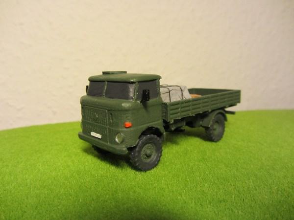 East german W50 IFA 4x4 gs truck