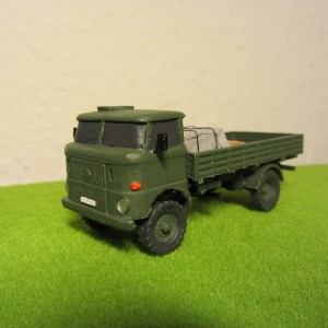 East german W50 IFA 4x4 gs truck
