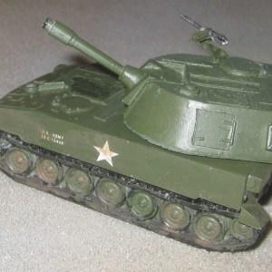 USA M108 105mm sp gun