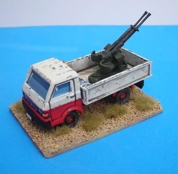 Russian zpu/23/2 a/a gun