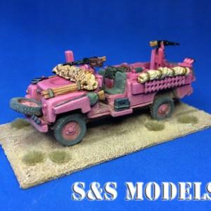 Pink Panther SAS Land Rover 109in