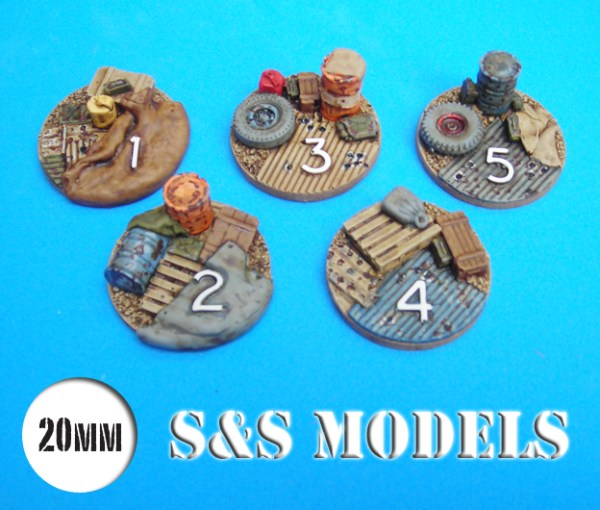 20mm Ambush alley hot spot markers pack of 5