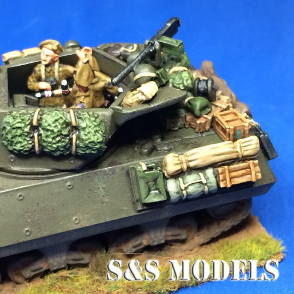 1/72 M10 & M10 Achilles Stowage (single)