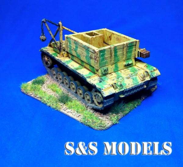 1/72 Bergpanzer 3 conversion kit