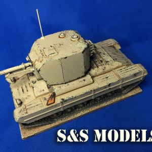 1/72 Valentine Bishop SP conversion kit