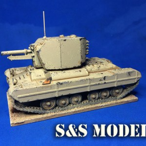 1/72 Armourfast Valentine & Bishop conversion kit (twin) offer