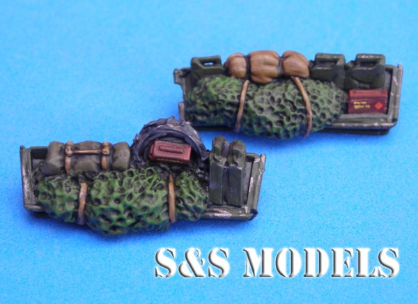 German M113 front stowage baskets
