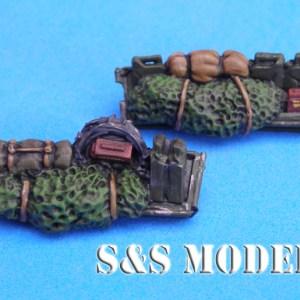German M113 front stowage baskets