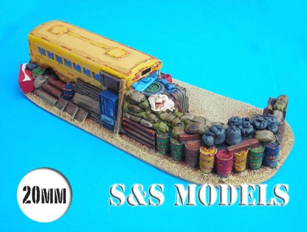 School bus barricade
