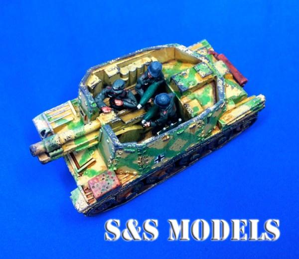 Sdkfz 138 H s.IG 33 (grille) sp gun