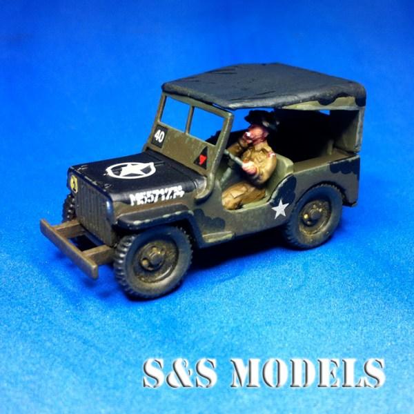 Jeep basic model & tilt raised