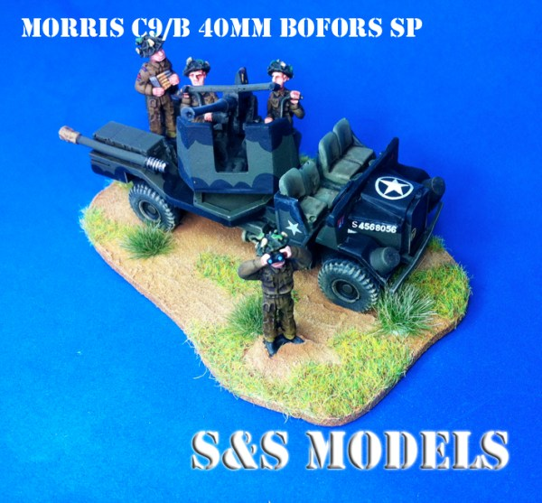 Morris C9B sp 40mm bofors a/a gun