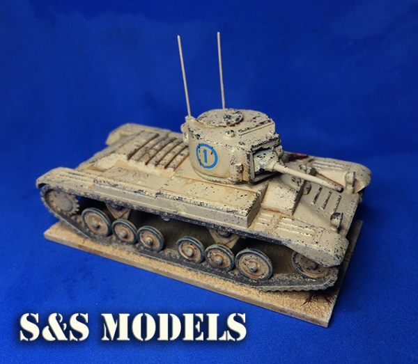1/72 Armourfast Valentine & mk3 conversion (twin) offer