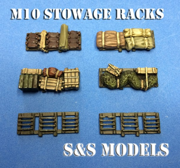 1/72 M10 & M10 Achilles stowage (Twin)