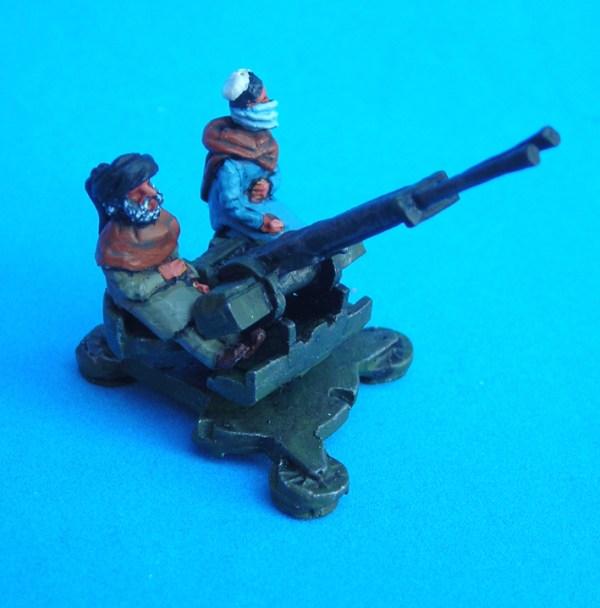 Afghan zpu/23/2 a/a gun crew x2