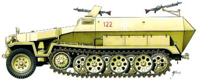 2x Armourfast 251 half track & engineer add on offer