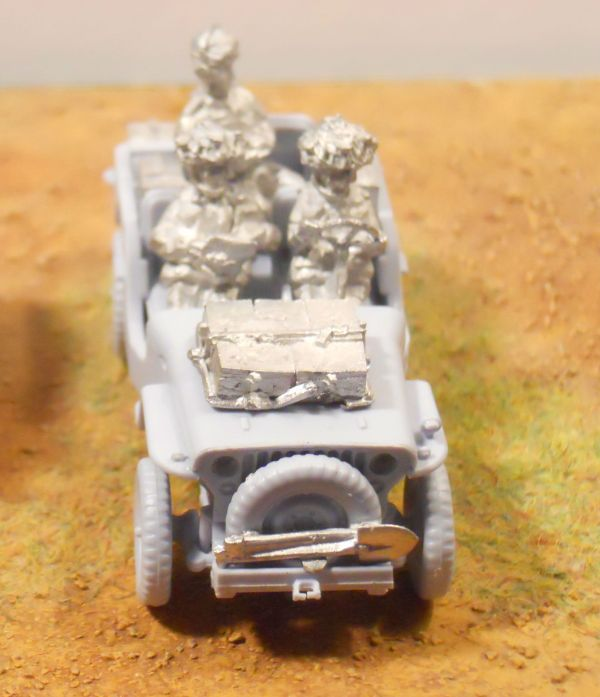 Airfix jeep, GB Para crew & stowage offer
