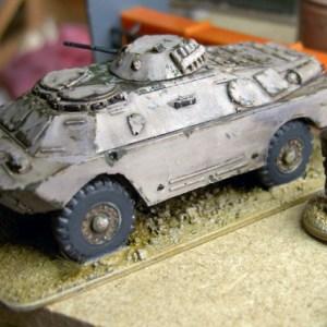 Brdm 2 armoured car