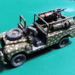 Rhodesian armed Land Rover